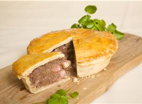 Diced Venison and Wild Mushroom Pies