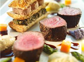 Deconstructed New Zealand Venison Wellington