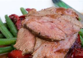 Venison Roast with Cranberry and Red Pepper Sauce - Annabel Langbein Fresh Everyday
