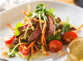 Gently Spiced Venison Salad