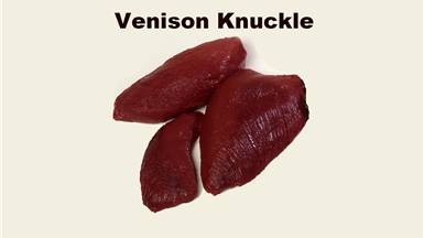 Venison Knuckle Preparation